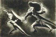Peter Pan, 1953 (cvcrossing) Tags: bw peterpan hook