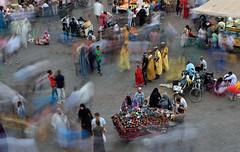 ghost town.. (flavijus) Tags: digital evening nikon ghost morocco medina marrakesh nikkor 70200mmf28gvr 2s elfna d810