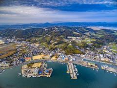 PhoTones Works #7336 (TAKUMA KIMURA) Tags: ocean sea nature japan landscape island scenery venus  load inland    okayama ushimado kimura  seto   takuma   phantom3   dji  photones