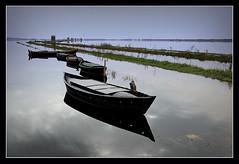 L`Albufera... (Vicensalamas) Tags: color fauna agua paisaje cielo barcas pesca comunidadvalenciana laalbufera