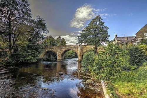 River Derwent, Baslow, Derbyshire.