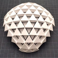Triangles (mike.tanis) Tags: art architecture design triangle origami prism kirigami