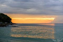 Window of Sunlight (_DSF5307-HDR) (Param-Roving-Photog) Tags: sunset sea sun sunlight reflection beach nature water clouds waves dusk karen phuket andamansea nikond750