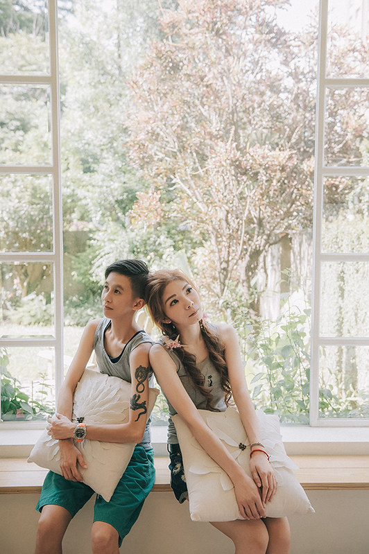 [自助婚紗] WEI & 玲 / 陽光攝影棚