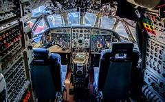 XV240 Nimrod, Kinloss (wwshack) Tags: aircraftmuseum kinloss moray morayvia nimrod scotland cockpit xv240