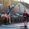 Hopp -|- Jump (erlingsi) Tags: hopp jump bergen stemmeveien noreg norway jumping trampoline boys hopping sq square