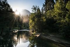 Early Half Dome (kristinfuller) Tags: goodmorning easternsierras sierras california yosemitenationalpark nationalpark natparks chasinglight explore yosemite nationalparks nature morninglight