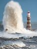 Tidal Surge Roker Sunderland (jonboy24/7) Tags: seascape sea wave roker tidal surge pier lighthouse rough