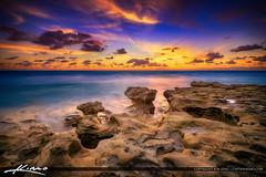 Carlin Park by the Rocks Before Sunrise Jupiter Florida (Captain Kimo) Tags: aurorahdr2017 carlinpark easyhdr florida hdrphotography jupiter nikhdrefx palmbeachcounty photomatixpro southflorida sunrise