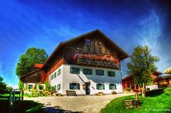 Käsealm Schönegg (Bayern) (Veitinger) Tags: veitinger hdr deutschland germany bavaria bayern gebäude building schönegg haus summer bauernhaus sommer