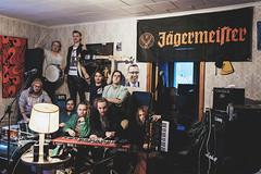 352/366 valtter vin & rappion rengit all stars (Niko Saarinen) Tags: band music promo jägermeister arp odyssey fujifilm xe2 fujinon1855mm classicchrome selftimer