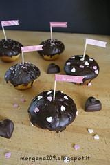 MuffinSanValentino_002w (Morgana209) Tags: love sanvalentino amore muffin cioccolato nutella yogurt facili veloci innamorati cuore tag flag handmade cucinareconamore heart 14febbraio fattoamano donospeciale
