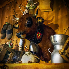 LaFermeBar (Mr Green75) Tags: sony rx100 ruberty lesmenuires lestroisvallees cow alpine alps mountainresturant