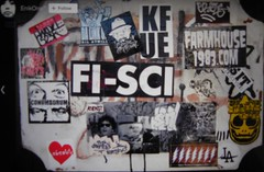 SCI Crew (Visual Chaos) Tags: sci scicrew sticker slaptag enik conundrum farmhouse 523k kfue fi asend aloha