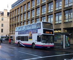 LK03 NHD (32304) working the 6A (West Scotland Transport) Tags: 32304 nhd lk03 lk03nhd transbus bus decker double volvob7tl volvobus volvo president plaxton plaxtonpresident glasgow firstgroup firstglasgow firstbus first