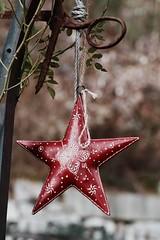 christmas star (irenemandlbauer) Tags: stars christmas outdoor red winter weihnachten january