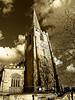 Chiesa Nottingham (gianclaudio.curia) Tags: canong12 bianconero blackwhite chiesa nottingham digitale