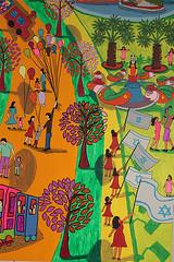 ציור נאיבי לונה פארק בתל אביב גלגל ענק קרוסלה מכוניות מתנגשות גן שעשועים מגלשות פארק שעשועים אמנות נאיבית בינלאומית רפי פרץ (iloveart106) Tags: ציור נאיבי לונה פארק בתל אביב גלגל ענק קרוסלה מכוניות מתנגשות גן שעשועים מגלשות אמנות נאיבית בינלאומית naive painting tel aviv amusement park ferris wheel carousel bumper cars slides international naïve art