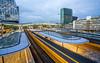 The trains are leaving town! (Bart Weerdenburg) Tags: utrecht utrechtcentraal utrechtcs station trein train longshutter shutterspeed longexposure movement netherlands nederland