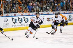 "Missouri Mavericks vs. Quad City Mallards, December 31, 2016, Silverstein Eye Centers Arena, Independence, Missouri.  Photo: John Howe / Howe Creative Photography • <a style=""font-size:0.8em;"" href=""http://www.flickr.com/photos/134016632@N02/31972632001/"" target=""_blank"">View on Flickr</a>"