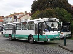 Espirito Santo 154 Batalha (Guy Arab UF) Tags: espirito santo autocarros de gaia 154 4973ql 1985 mercedes benz o305 bus parque das camelias batalha porto portugal autocarro buses
