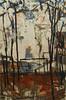 Strutture verticali e macchie (Fulvio Donorà) Tags: fulviodonorà pittura romantica colore strutture