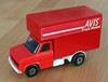 Matchbox Ford Luton Van (Schwanzus_Longus) Tags: model replica die cast toy car matchbox kings made england delmenhorst indoor superkings super k27 ford series luton box van body avis truck rental lorry red