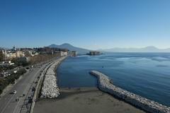 2016 12 28 - Napoli - (102) - Lungomare (Giovanni.Ciliberti) Tags: napoli mare lungomare vesuvio via caracciolo dallalto nalbero