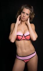 Gisela (ecker) Tags: badekleidung bademode bikini frau gisela körper linz portrait porträt studio body indoor portraiture sportlich swimwear trainiert woman sony a7 zeiss loxia 35mm zeissloxia235 biogon