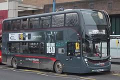 National Express West Midlands Alexander Dennis Enviro400 MMC 6854 (SN66 WFZ) (Birmingham Central) 'Olivia Mae' (john-s-91) Tags: nationalexpresswestmidlands alexanderdennisenviro400mmc 6846 sn66wfr birmingham routex1 amazonvideo