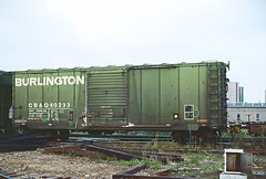 CB&Q Class XM-32 40233 (Chuck Zeiler) Tags: cbq class xm32 40233 burlington railroad box car boxcar freight chicago train chz chuck zeiler