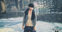 Look 38 ++Gild++ in  SIGNATURE EVENT January round! (Raphael Gauthier) Tags: man men pants shirts blouse jacket style blog hair tattoo fashion couple shoes photoshop gift groupgift gacha skin poses free clothes beard casual he gild taketomi