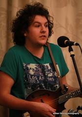 IMG_0198 Willem (marinbiker 1961) Tags: willem mandolin quick celticmusicradio indoors male man greentshirt microphone people performer musician indoor