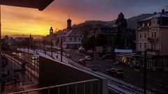 Freiburg am Morgen (simonpe86) Tags: freiburg morgengrauen sunrising dusk morgenstunde