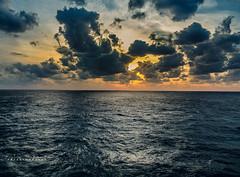 Atlantic (757artography) Tags: ocean water atlanticocean cruise canon5dmk3 canon2470mm28l 757artography sunset