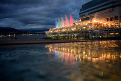 _DSC3566 Canada Place (anthonymaw) Tags: canada canadaplace reflection vancouver