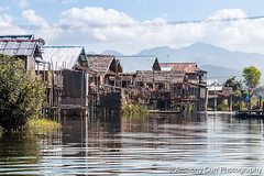 Houses on Inlay Lake, Myanmar (AnthonyGurr) Tags: burma myanmar inlay lake inle house water home burmese traditional anthonygurr