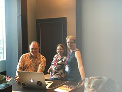 Virtually Connecting at ELI 2017 - Kyle Johnson, Autumm Caines, and Eden Dahlstrom