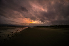 Trouble upstairs (A Costigan) Tags: clouds sky sunset beach dublin dollymount