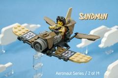 Sandman (ted @ndes) Tags: lsb lego speederbike speeder bike airplane sky fi dieselpunk ccbs fusion