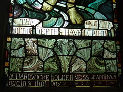 Chelmsford Cathedral (Aidan McRae Thomson) Tags: chelmsford cathedral church essex stainedglass window preraphaelite henryholiday