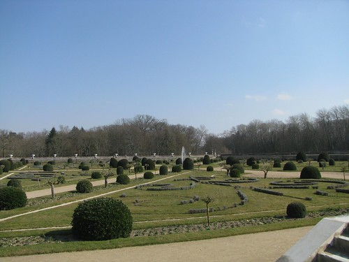Chenonceau gardens