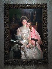 Mrs. Fiske Warren (Gretchen Osgood) And Her Daughter Rachel (ArtFan70) Tags: mrsfiskewarrengretchenosgoodandherdaughterrachel mrsfiskewarrenandherdaughterrachel mrsfiskewarren warren gretchenosgood osgood johnsingersargent johnsargent sargent museumoffinearts mfa artmuseum fenwaykenmore boston massachusetts ma unitedstates newengland usa america art painting portrait doubleportrait