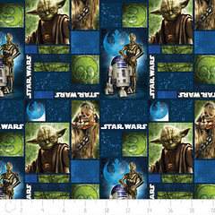"""(Camelot Cottons) Star Wars III, Realistic Characters In Blue • <a style=""""font-size:0.8em;"""" href=""""http://www.flickr.com/photos/132535894@N06/20567633856/"""" target=""""_blank"""">View on Flickr</a>"""