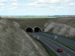 GOC Willian & Weston Hills 046: Weston Hills Tunnel (Peter O'Connor aka anemoneprojectors) Tags: 2015 a505 baldockbypass england gayoutdoorclub goc gochertfordshire gocwillianwestonhills hertfordshire hertfordshiregoc outdoor road tunnel weston westonhillstunnel z981 kodakeasysharez981 kodak uk