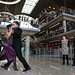Mauricio Macri felicita a las parejas que ganaron el Mundial de Tango.-