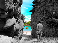 Shikinejima (Luclasaw) Tags: ocean sea summer praia beach nature japan island tokyo bay natureza peaceful 日本 verão 東京 japão 夏 relaxation 自然 niijima shikinejima 新島 島 式根島 日本  伊豆七島 海岸  式根島