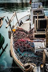 Nets are ready (robertofaccenda.it) Tags: trip travel sea vacation espaa praia beach boat mar spain barca mare playa d750 viaggi spiaggia holydays menorca vacanze fornells spagna baleares minorca baleari
