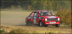 Harold Palin Memorial Rally - Fulbeck 2015 (ladythorpe2) Tags: england ford andy club october memorial sam district rally 4th 9 harold lincolnshire motor collins graham rs escort airfield eastwood palin rallying grantham 2015 fulbeck escortsubarumitsubishirally