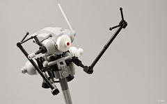Neuspotter NS465 (_Tiler) Tags: lego scout mecha mak sensor recon mechanoid maschinenkrieger neuspotter neuspotterns465